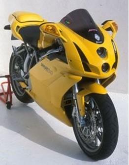 Ermax Ζελατίνα Ducati 749/999 03-06 Aeromax Dark Smoke