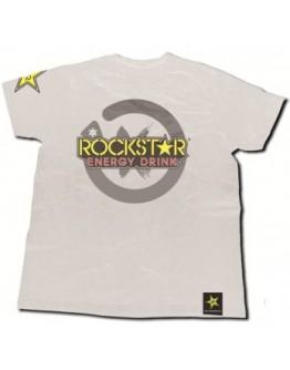 T-Shirt Jorge Lorenzo Rockstar White
