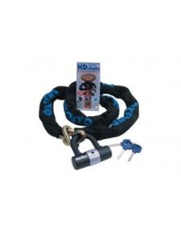 Oxford Αλυσίδα 10 10mm x 1.4 MTR Chain & Lock LK144