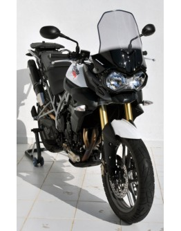 Ermax Ζελατίνα High Triumph Tiger 800 12-15 Light Smoke