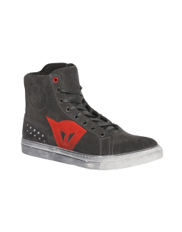 Dainese Street Biker Air Shoes Carbon/Red