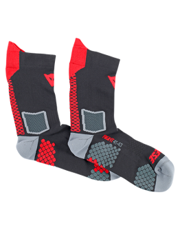 Dainese D-Core Mid Sock Black/Red