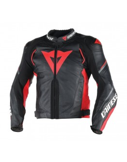 Super Speed D1 Leather Black/Red/Antracite