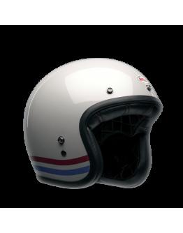 Custom 500 Stripes Pearl White