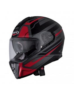 Drift Shadow Matt Gun Metal/Black/Red