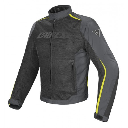 Dainese Hydra Flux D-Dry Jacket Black/Gray/Fluo Yellow