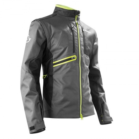 Acerbis Enduro One Jacket Black/Fluo Yellow