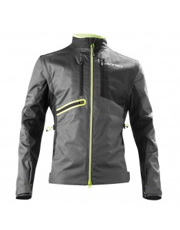 Acerbis Enduro One Jacket Black/Fluo Yellow