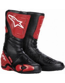 Alpinestars S-MX 4 Boots Red