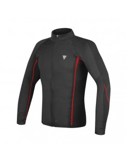 Dainese D-Core No-Wind Thermo Tee LS Black/Red