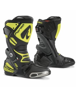 Forma Μπότες Ice Pro Black/Fluo Yellow