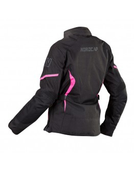 Nordcap Glory II Lady Jacket Black/Fouchsia