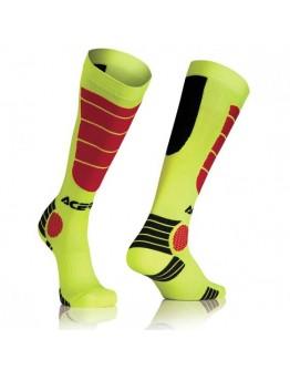 Acerbis Impact X-Leg Pro Socks Fluo Yellow/Black