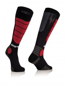 Acerbis Impact X-Leg Pro Socks Black/Red