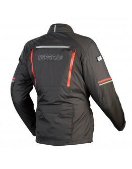 Nordcap Adventure Jacket Black/Red