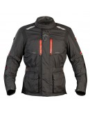 Nordcap Adventure Jacket Black/Red