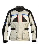 Nordcap Adventure Jacket Fluo Grey/Blue