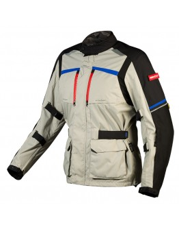 Nordcap Adventure Jacket Fluo Grey/Blue