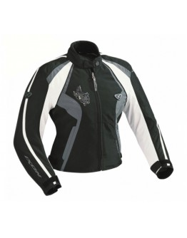 Ixon Capricious Ladies Jacket Black/White