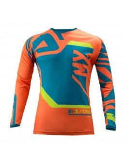 Fitcross Jersey Orange/Blue
