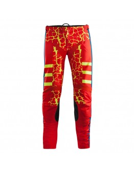 Acerbis Παντελόνι MX Wildfire Pants Red/Fluo-Yellow