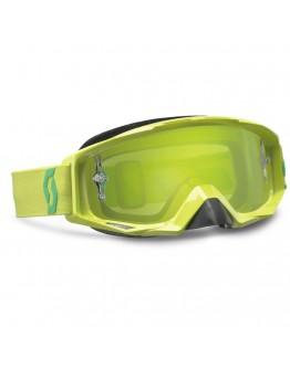 Scott Tyrant Lime Green Lens Green Chrome Works