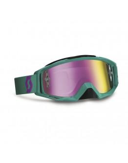 Scott Tyrant Gaste Green/Purple Lens Purple Chrome Works