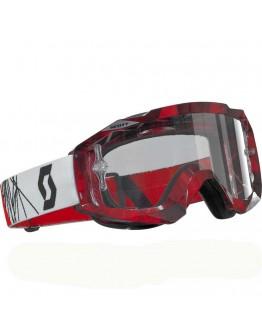 Scott Hustle MX Prism Red Lens Clear AFC Works