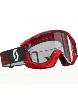 Scott Recoil Xi Pro Tether Red Lens Clear AFC Works