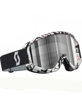 Scott Recoil Xi Pro Smash White Lens Silver Chrome