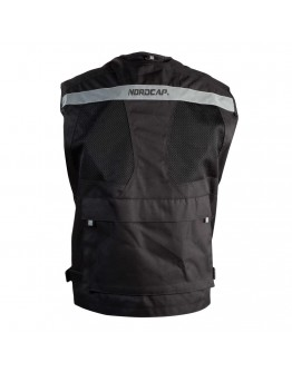 Nordcap Summer Vest Black