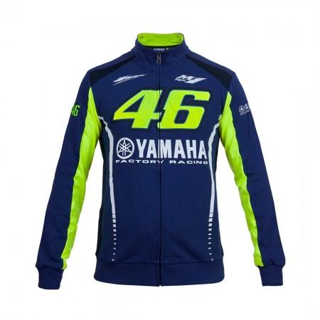 Yamaha VR46 Fleece Blue