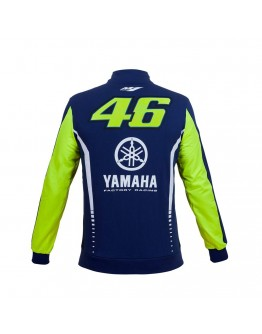 Yamaha VR46 Fleece Blue