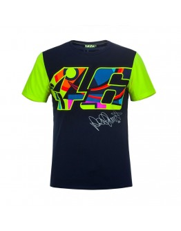 T-Shirt 46 Blue/Yellow