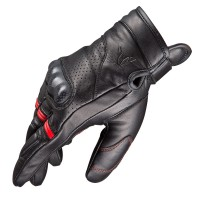Nordcap GT-Carbon Gloves Black/Red