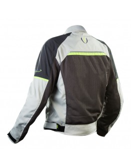 Nordcap Eolos WR Jacket Ice Grey/Fluo