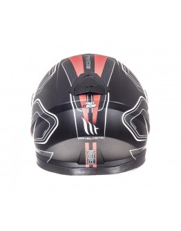 MT Thunder 3 SV Trace Matt Black/Red