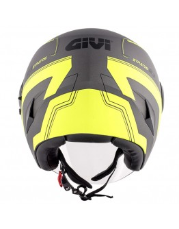 Givi 12.3 Stratos Titanium Matt/Yellow