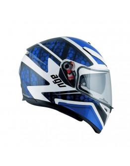 K-3 SV Pinlock Pulse White/Black/Blue
