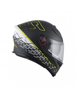 AGV K-5 S Top Thorn 46 Matt Black/Yellow/White