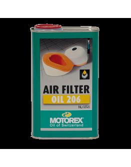 Motorex Λάδι Φίλτρου Αέρα Oil 206 1lt