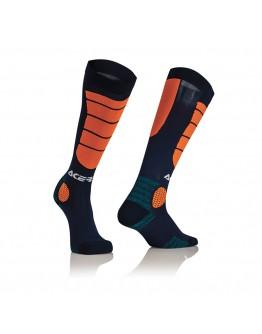 Acerbis Impact X-Leg Pro Socks Black/Orange