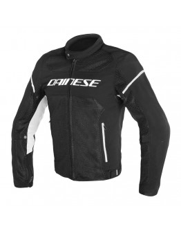 Dainese Air Frame D1 Tex Jacket Black/Black/White