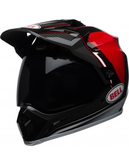 MX-9 Adventure Mips Berm Black/Red