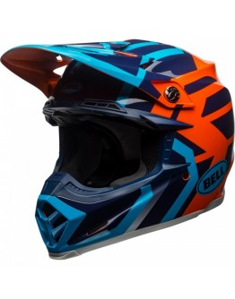 Moto-9 Mips District Blue/Orange