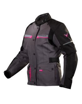 Nordcap Arcadia Lady Jacket Dark Grey/Fuschia