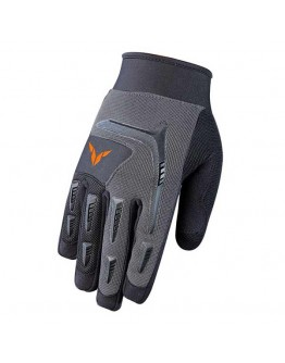 Nordcap Downhill Gloves Grey/Black