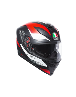 AGV K5 S Marble Black/White/Red