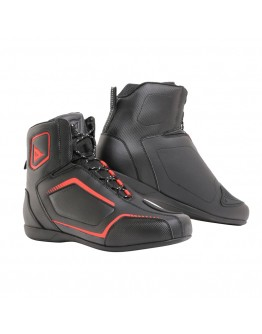 Dainese Raptors Μποτάκια Black/Fluo/Red