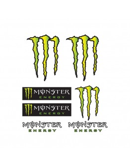 Booster Σετ Αυτοκόλλητα Monster